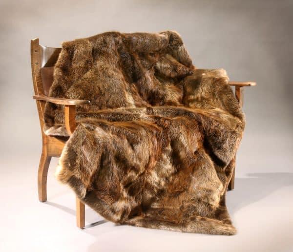 Beaver Fur Blanket