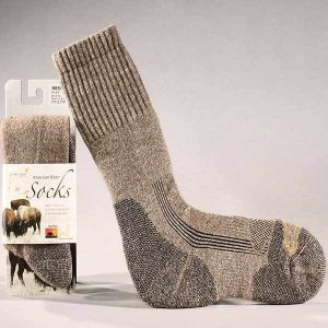 Bison Wool Boot Sock