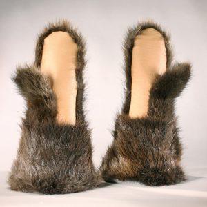 Beaver Fur Mittens
