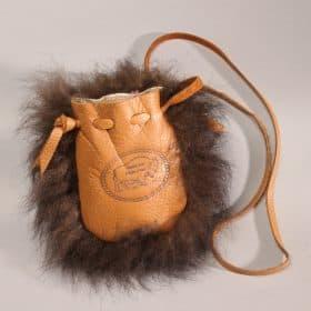Buffalo Leather/Fur Possible Bag