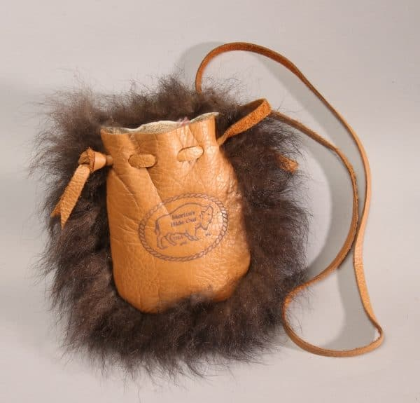 Buffalo Leather/Fur Possible Bag