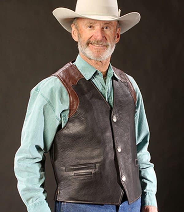 Coronado Leather Vest