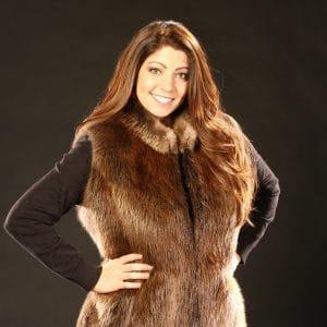 Beaver Fur Vest - Women's