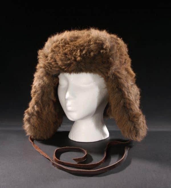 Buffalo Fur Trapper Hat