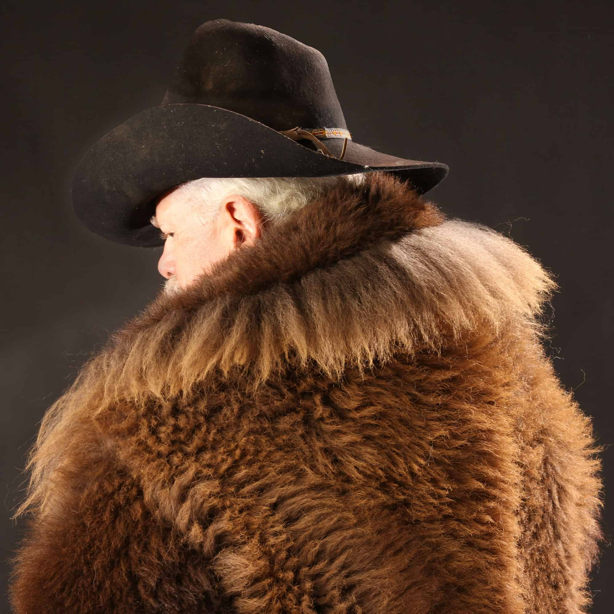 Natural Buffalo Fur Coat - Full-Length Custom Tailored - Handmade in USA