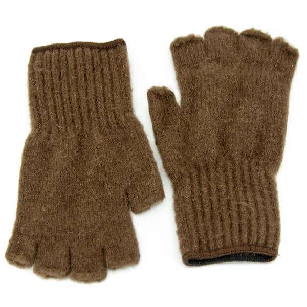 extreme gear fingerless gloves - brown - 25 - 5472 x 3648