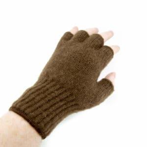 extreme gear fingerless gloves - brown - 26 - 5472 x 3648