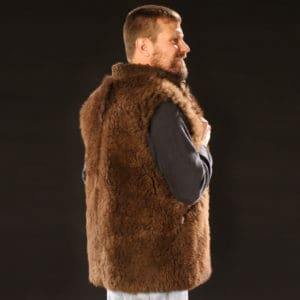 Men's Buffalo Vest - Back