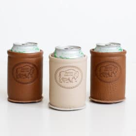Buffalo Leather Can Koozie