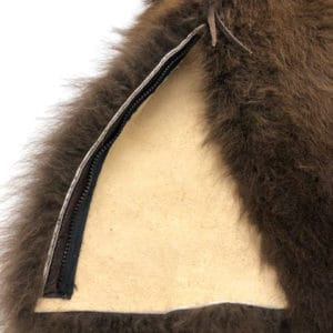buffalo-fur-gaiters-detail