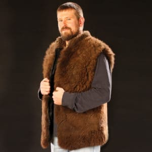Men's Buffalo Vest - Side