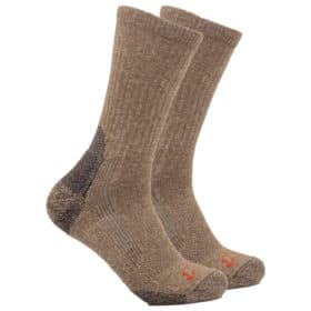 Bison Wool & Silk Pro-Gear Technical Crew Sock
