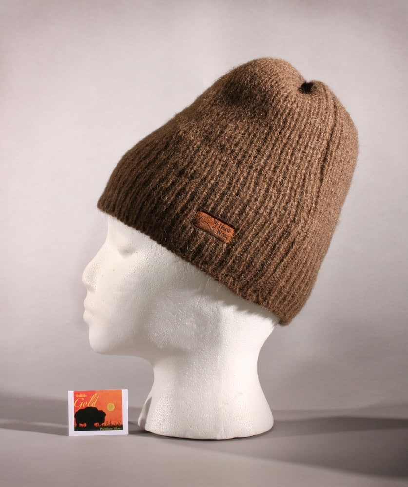 64c485c6e60 Bison Wool Beanie. The pure