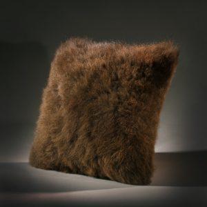 Buffalo Fur Pillow