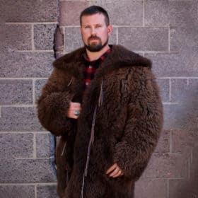 Buffalo Fur Jacket