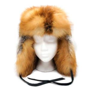 red-fox-fur-trapper-hat